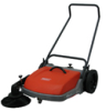 Walk-behind Sweeper, PowerBoss® -- Collector 28