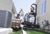 Zero Tail Swing Compact Excavator -- 418 - Image