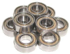 10 Bearing 5x8 Sealed 5x8x2.5 -- Kit7077