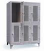 Locker wih Ventilated Doors -- 4.76-34-V-2TPL -- View Larger Image