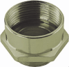 Nickel-Plated Brass PG-Metric Thread Adapter -- 6604742