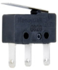 ZM1 Series, Subminiature Basic Switch, SPDT, 3 A, 125/250 Vac, Straight Lever, Quick Connect Termination -- ZM150C70C01