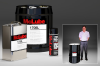 Dry Film Moly & PTFE Bonded Lubricant. Aerosol Spray & Bulk Packaging -- McLube 1708L - Image