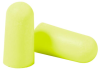 E-A-Rsoft Yellow Neons Disposable Foam Earplugs - uncorded > SIZE - Regular > NRR - 33 > UOM - 200 pr/bx -- 312-1250