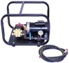Test Pump, Electric,Triplex Plunger,1 HP -- 6GDV9