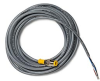 M12 Cable, 2-Pin Female Connector to Pigtail, 5 m -- 196648-05