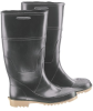 Onguard 56234 Black/Tan 10 (Women's) Chemical-Resistant Boots - 14 in Height - Steel Toe Cap - 791079-10131 -- 791079-10131 - Image