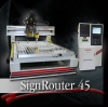 3 Axis CNC Router SignRouter Series -- SignRouter 45