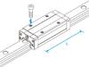Linear Motion Guide SHS -- SHS55LV-Image