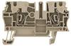 TERMINAL BLOCK, DIN RAIL, 4POS, 30-12AWG -- 10B8012