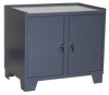 Security Cabinet,2 Door,36x18,Gray -- 18H206