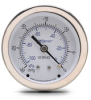 -30 to 0 inch Hg Vacuum Pressure Gauge with 2.5 inch mechanical dial -- G25-SDV-4CS - Image