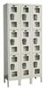 Assem Locker,3 Tier,W 36,D 15,Parchment -- 4VFC3