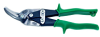 Wiss Metalmaster Offset Snips-Green Handle -- T-65L
