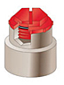 FP Series - NS & NF Class 1-2-3 Threaded Plugs (O-Ring Optional) -- fp122a