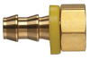 Brass Push-on Fitting - Female Inverted Flare