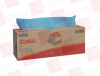 KIMBERLY CLARK 05740 ( (PRICE/CA, 9BX/CA) BLUE WYPALL PLUS WIPERALL PURPOSE MED DUTY ) -Image