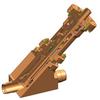Weld End Non-return Y-valve -- RYN