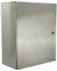 Stainless steel control cabinet Wiegmann N412242010SSC -Image