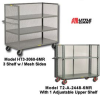 3-SIDED SHELF TRUCKS -- HT2-2448-6MR - Image