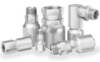 HY Series Industrial Hydraulic Crimp Fitting - Flareless -- 1GJHY-8-4