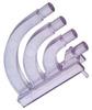 LUMEX - LPF-C014301S - LIGHT PIPE, QUAD, ROUND, PCB -- 664648