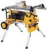"10"" Compact Job Site Table Saw w/ Rolling Stand -- DW744XRS"