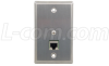 In-Wall Electrical Box Mount 10/100 Base CAT5 -- WPCAT5 - Image