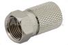 75 Ohm F Male Connector Twist Attachment For RG6 -- PE44314