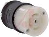 Connector Body; 30 A; 120/208 VAC (3 Phase Y);L21-30R, B/W -- 70116450
