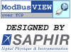 ModBusVIEW over TCP - SAPHIR -- 781938-35