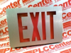 SIGN LED EXIT 1.2W 120/277VAC DIE CAST ALUMINUM -- LES1R120277