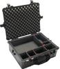 Pelican 1600 Case with TrekPak Dividers - Black | SPECIAL PRICE IN CART -- PEL-016000-0050-110 -- View Larger Image