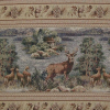 Deer Frieze Timberfield Fabric -- R-Tamarack -- View Larger Image