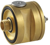 Two-stage diaphragm pressure regulator from Beswick