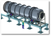 Rotary Kiln Systems -- Specializing In Non-burning Technology -- View Larger Image