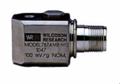 Accelerometer with M12 Connector from Meggitt Sensing Systems