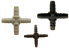 Barbed Cross Fitting -- F-3146-80 -Image