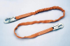 Titan Tubular Shock-Absorbing Lanyard - single leg, w/ snap hook & snap hook > UOM - Each -- T5111/6FTAF -- View Larger Image