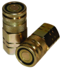 Flat Face Style Couplings -- Series A-HD