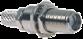SMA Female Bulkhead Mount Connector With RG58 Cable End Crimp -- CONSMA005-R58 -- View Larger Image