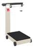 D500M - Ohaus Defender 3000 Mechanical Bench D500 Mobile Floor Beam Scale, 1,000lb x 8oz -- GO-11600-32 - Image