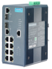 8+2G Port Gigabit Managed Redundant Industrial PoE Switch with Wide Temperature -- EKI-7659CPI-AE