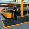 "26"" x 40"" Black/Yellow - Safety Drainage Mat -- MAT310BY - Image"