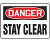 MEQM190VP - Safety Sign, Danger - Stay Clear, 7