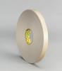 3M 4492 White Foam Mounting Tape - 1 1/2 in Width x 72 yd Length - 1/32 in Thick - 23512 -- 051115-23512 -- View Larger Image