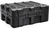 Pelican AL3022-0705 Single Lid Flat Shipping Case with Foam and Casters - Black -- PEL-AL3022-0705RPFC032 -Image