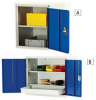 BOTT Economy Wall-Hung Shop Storage Cabinets -- 6056100