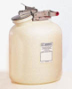Justrite Nonmetallic Self-Close Corrosive Safety Containers -- sc-17-985-89D
