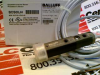 BALLUFF BOS 18KF-PA-1FR-C-02 ( (BOS00JH) FIBER OPTIC DEVICE, LIGHT EMITTER=LED, CONNECTION TYPE=CABLE, SWITCHING OUTPUT=PNP NORMALLY CLOSED (NC);PNP NORMALLY OPEN (NO) (PINS 4-2) ) -Image